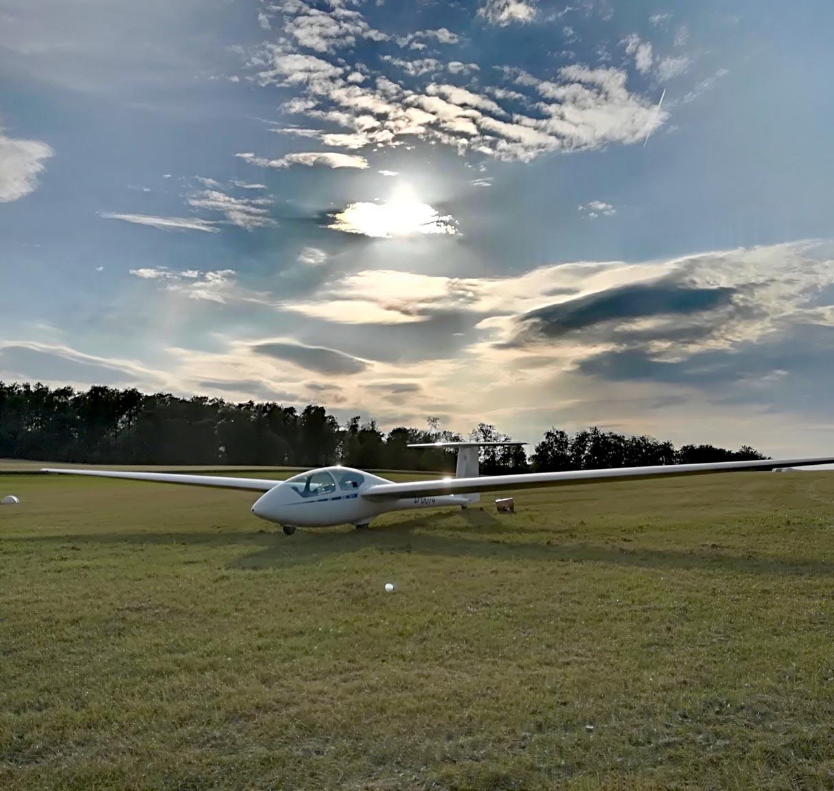 Tag der offenen Tür 2019 am Segelflugplatz Vinsebeck
